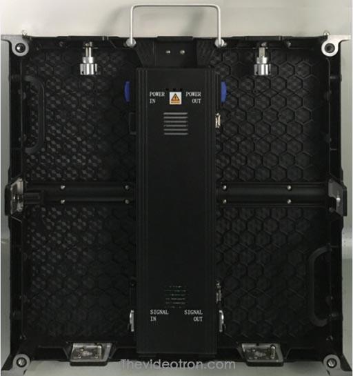 videotron P4,81 SMD2121 indoor Die-casting aluminum cabinet back thevideotron.com