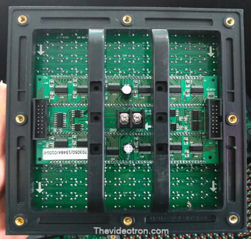videotron P10 DIP346 outdoor full color led modules back, JUAL vIDEOTRON MURAH SURABAYA, harga Videotron di surabaya, jasa konsultan videotron surabaya,jual videotron p10,p8,p6,p9 harga murah