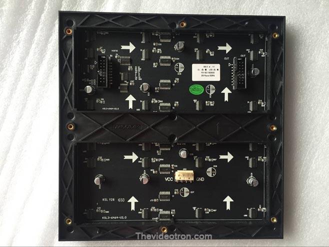 videotron P3 SMD2121 indoor RGB led module 1/16 scan back, videotron murah di surabaya, videotron murah di jakarta