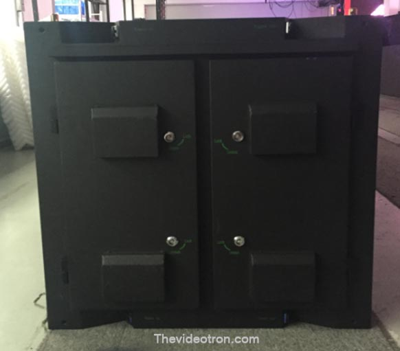 videotron P6 SMD3535 RGB outdoor led cabinets back LUAR RUANGAN